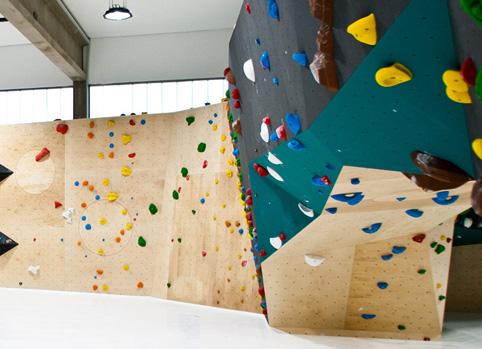 responsive Website - Rock Inn Kletterhalle in Würzburg