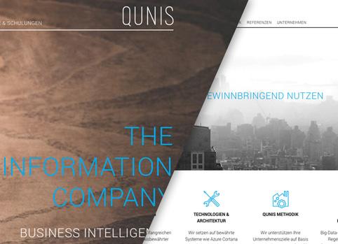 Qunis responsive Wordpress website