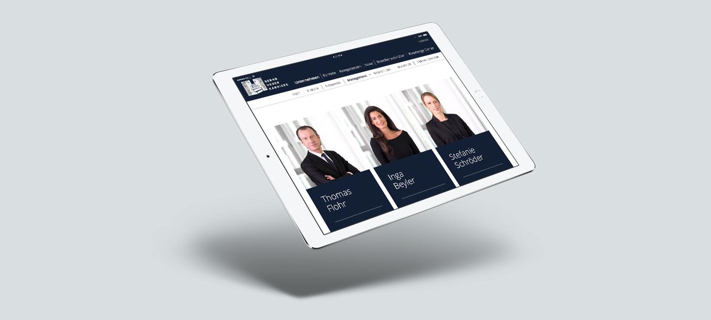Bernd Heuer Karriere Website