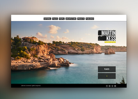 responsive Wordpress Website Martin Kess